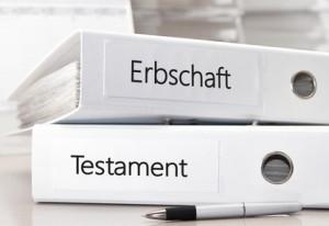 Testament und Erbschaft regeln